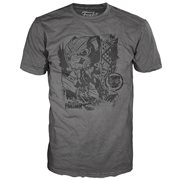 Black Panther Jungle Gray Pop! T-Shirt