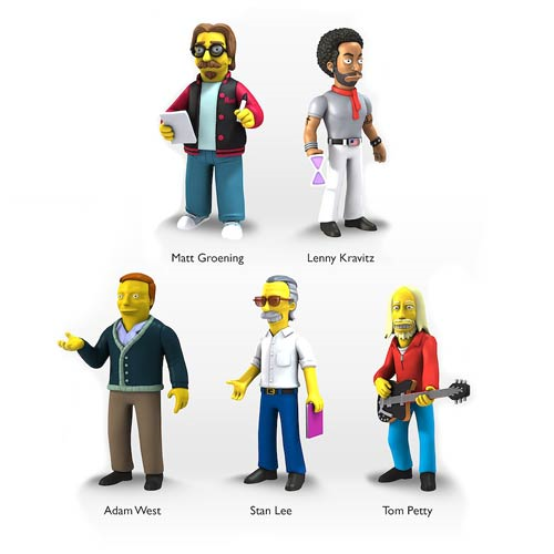 Simpsons 5-Inch Guest Star Action Figure Series 5 Case