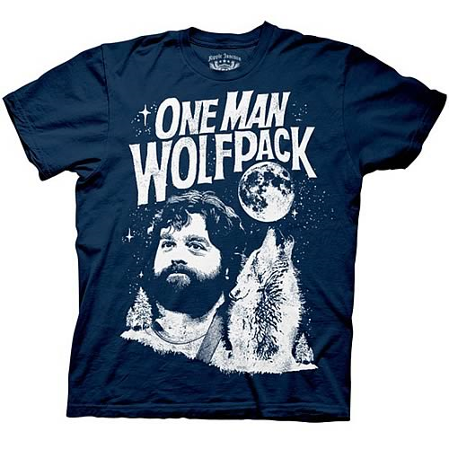 The Hangover One Man Wolfpack T-Shirt