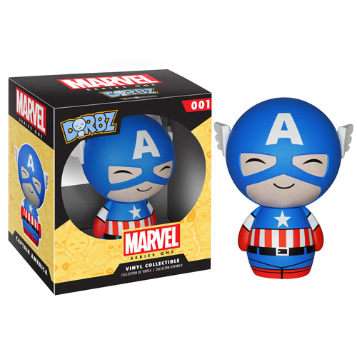 Captain America Marvel Series 1 Dorbz Vinyl Figure