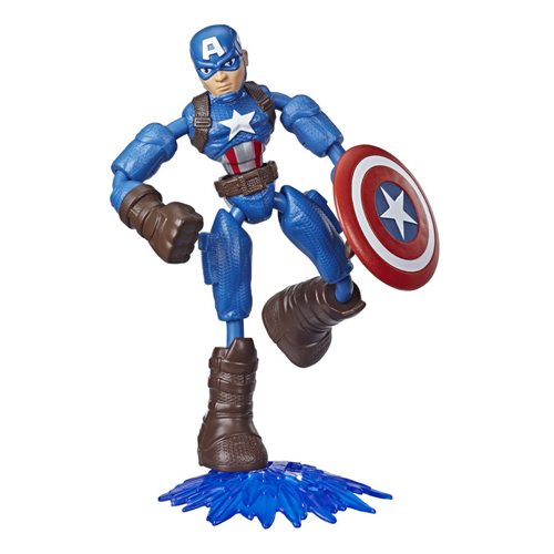 Avengers Bend and Flex Captain America Action Figure