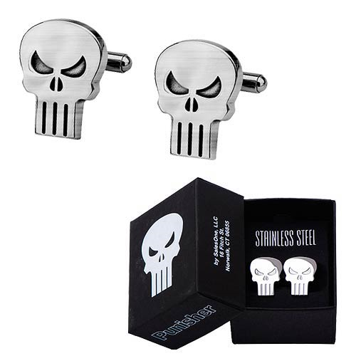 Punisher Skull Cufflinks