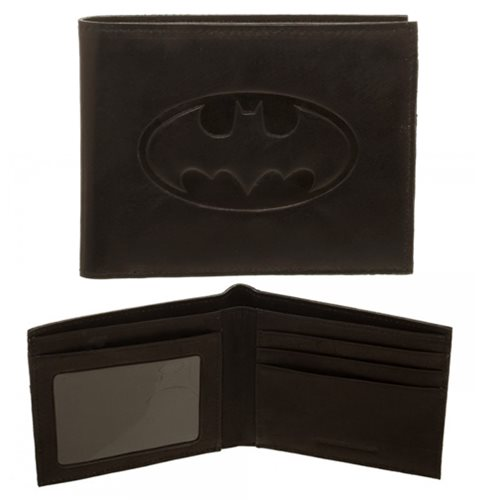 Batman Leather Bi-Fold Wallet