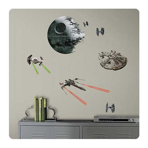 Star Wars Classic Ships Wall Decal