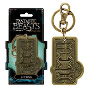 Fantastic Beasts and Where to Find Them Accico Pewter Key Chain