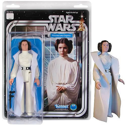 Star Wars Princess Leia Jumbo Vintage Kenner Action Figure