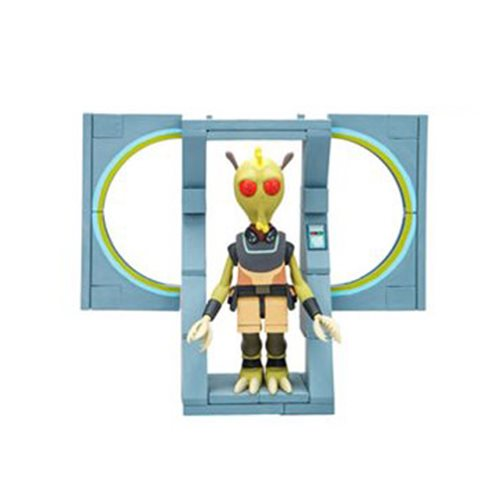 Rick and Morty Discreet Assassin Micro Construction Set