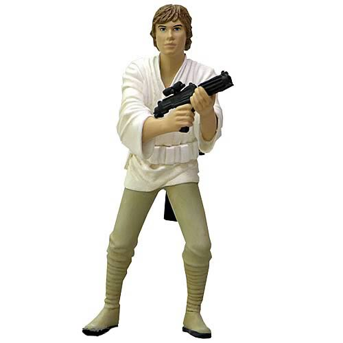 Star Wars Luke Skywalker Metal Statue