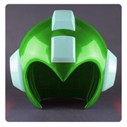 Mega Man Green Leaf Shield Wearable Helmet Prop Replica