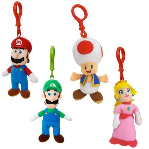 World of Nintendo Plush Hangers Wave 2 Case