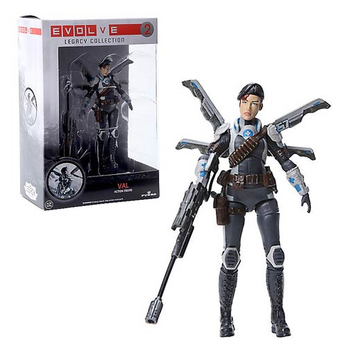 Evolve Val Legacy Collection Action Figure, Not Mint