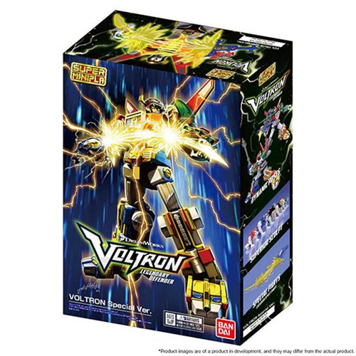 Voltron Voltron Set Super Mini Pla Action Figure - SDCC 2018 Exclusive