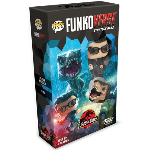 Jurassic Park 101 Pop! Funkoverse Strategy Game Expandalone
