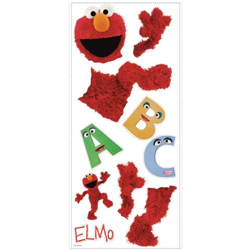 Sesame Street Elmo Peel and Stick Giant Wall Decals