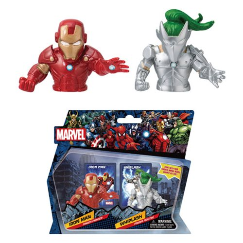 Marvel Iron Man Vs. Whiplash Fighter 2-Pack Set #2