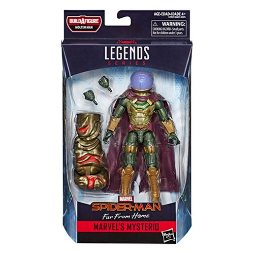 Spider-Man Marvel Legends 6-Inch Far From Home Mysterio Action Figure