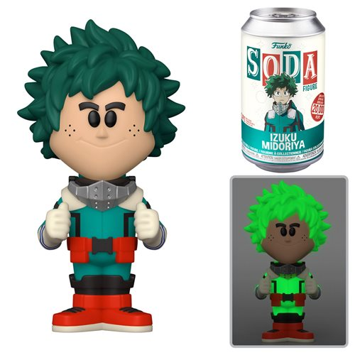 My Hero Academia Deku Soda Vinyl Figure