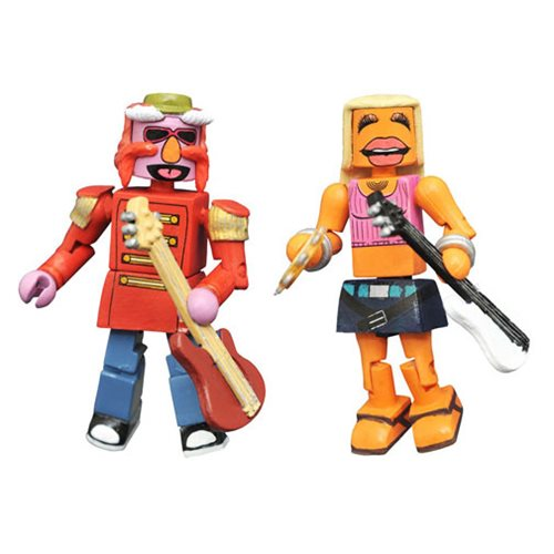 Muppets Minimates Series 3 Floyd and Janice 2-Pack
