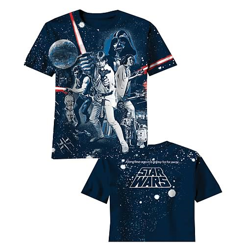 star wars war of wars all over print blue t shirt entertainment earth