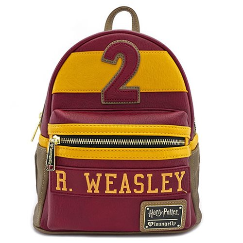 32944f35a1b Harry Potter Gryffindor R. Weasley Mini Backpack - Entertainment Earth