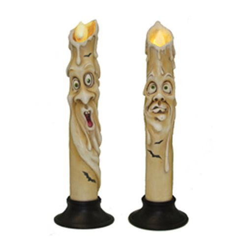 Halloween Haunted LED Candle Set