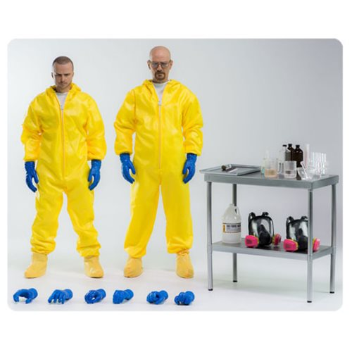 Breaking Bad Heisenberg and Jesse Hazmat Suit 1:6 Scale Action Figure 2-Pack