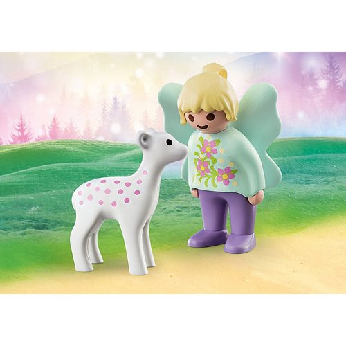 Playmobil 1.2.3 70402 Fairy Friend with Fawn