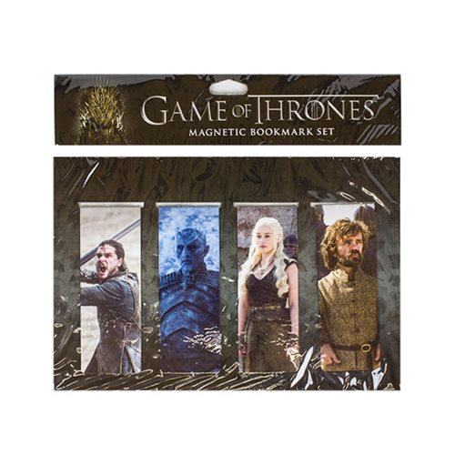 Game of Thrones Magnetic Bookmark Series 3 Set