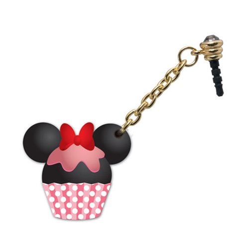 Minnie Mouse Cupcake D-Lish Treats PVC Phone Charm