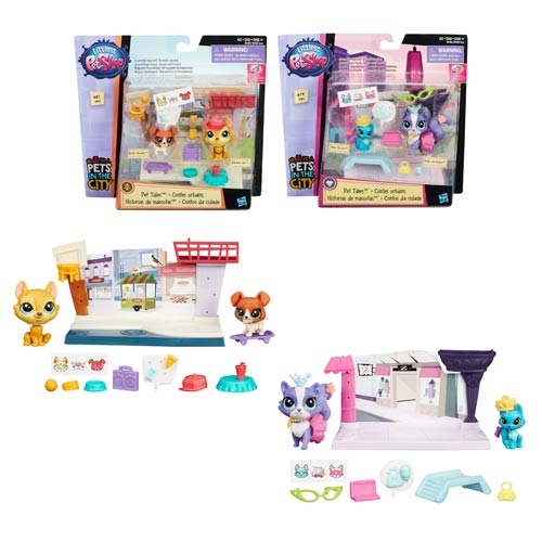 Littlest Pet Shop Pet Tales Mini-Figures Wave 1 Set