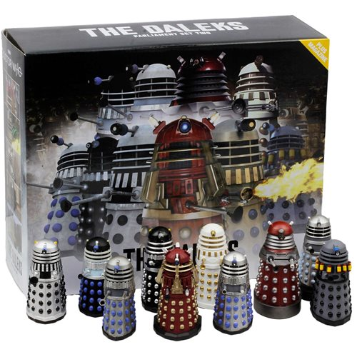Doctor Who Dalek Parliament Part 2 Figure with Collector Magazine
