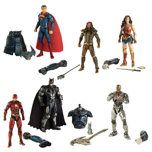 Justice League Movie Multiverse 6-inch Action Figure Wave 1 Case