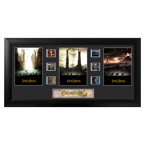 Lord of the Rings Series 3 Trilogy Framed Film Cell