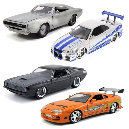 Fast and Furious 7 1:24 Scale Die-Cast Vehicle Wave 6 Case