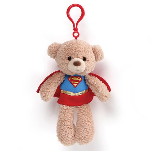 DC Comics Supergirl Clip-On Backpack Plush