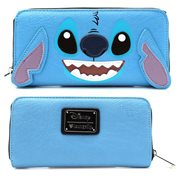 Lilo & Stitch Big Face 3-D Ears Zip-Around Wallet