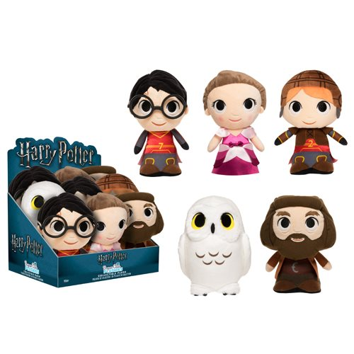 Harry Potter SuperCute Plush Display Case Wave 2