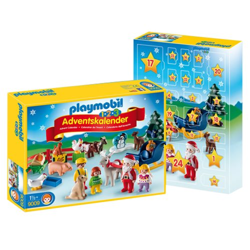 Playmobil 9009 1.2.3 Advent Calendar Christmas on the Farm