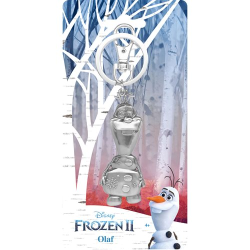 Frozen Olaf Pewter Key Chain