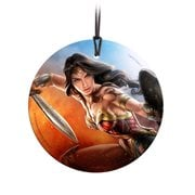 Wonder Woman The Sword of Justice StarFire Prints Hanging Glass Ornament