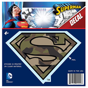 Superman Classic Logo Camo Version 1 Decal