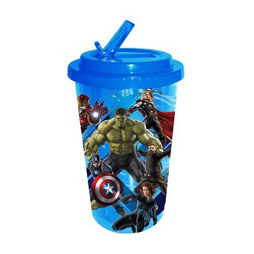 Avengers: Age of Ultron 16 oz. Flip-Straw Travel Cup