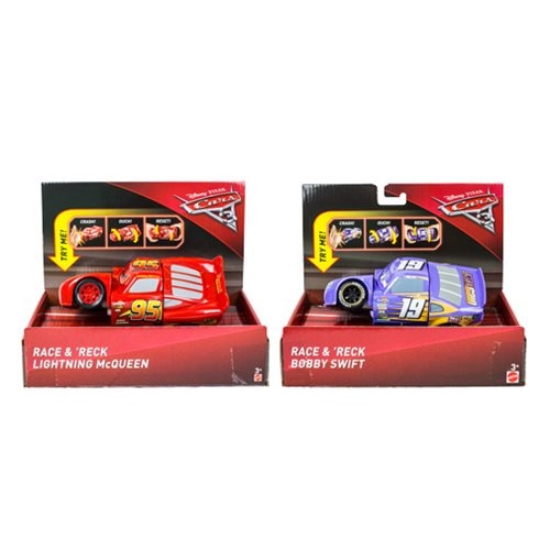 Cars Race and Wreck Vehicle Case