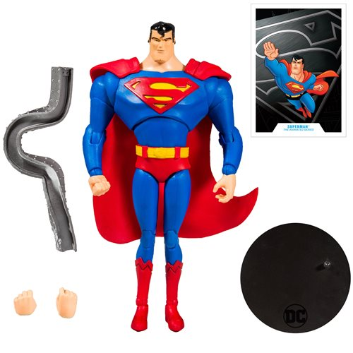 DC Animated Wave 1 Superman 7-Inch Action Figure