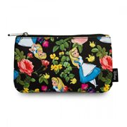 Alice in Wonderland Floral Pencil Case