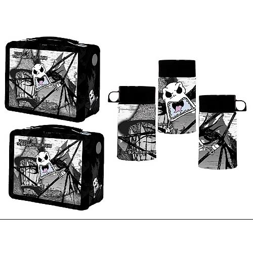Nightmare Before Christmas Scary Jack Lunch Box - Entertainment Earth