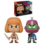 Masters of the Universe He-Man and Trap Jaw Vynl. Figure 2-Pack