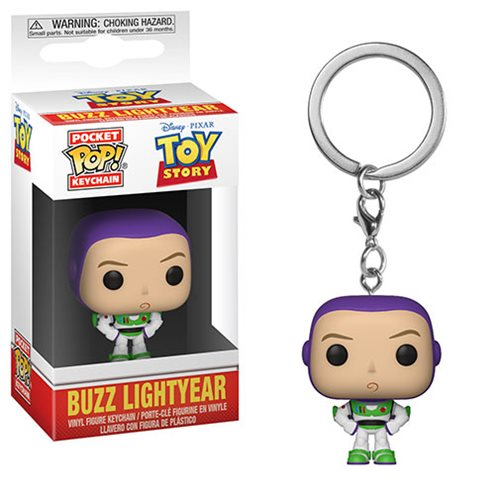 Toy Story Buzz Pocket Pop! Key Chain