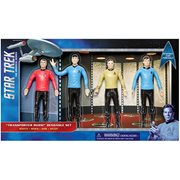 Star Trek: The Original Series Transporter Room 6-Inch Bendable Action Figure Box Set