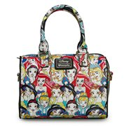 Disney Princesses Classic Print Pebble Cross-Body Duffle Purse